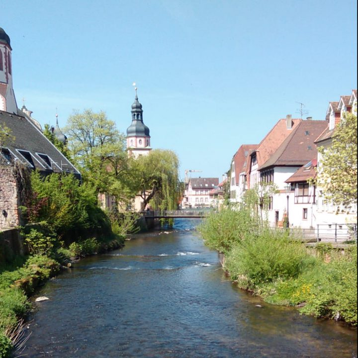 "Happy ""Germanniversary""! Celebrating two years in Ettlingen"